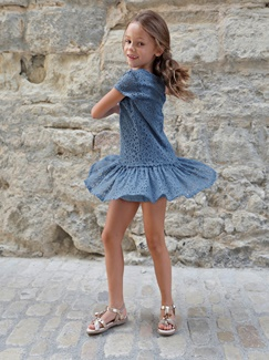Fille-Les looks-Blue party