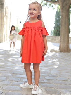 Fille-Les looks-Miss tangerine