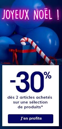 -30% d�s 2 articles achet�s sur une s�lection de produits*