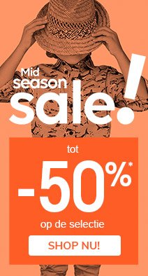 Mid season sale! tot -50%*
