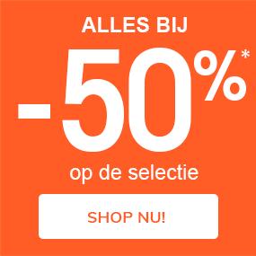 """Selectie Mid Season sale: ALLES BIJ -50%* op de selectie"""""""