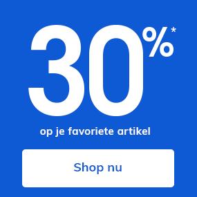 30%* op je favoriete artikel