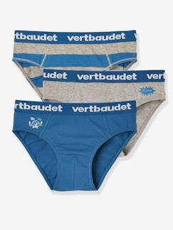 Jongens-Ondergoed-Set met 3 stretch slips Biscotto