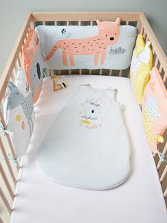 Linnengoed en decoratie-Baby beddengoed-Bedomranding HAPPY MENAGERIE