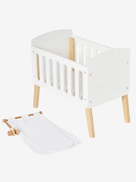 Ciel de lit pour lit poupon - blanc