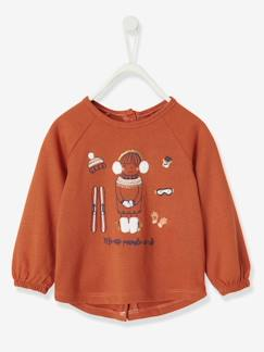 T-shirt babymeisje met decoratieve applicaties  - vertbaudet enfant