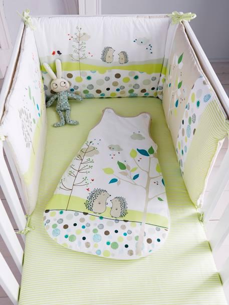b068213b076ced Tour de lit bébé brodé PIC-NIC - multicolore, Meubles et linge de lit