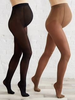 Future Maman-Legging, collant-Lot de 2 collants opaques de grossesse