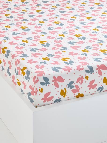 Drap housse enfant envolee multicolore meubles et linge for Drap housse 90x140