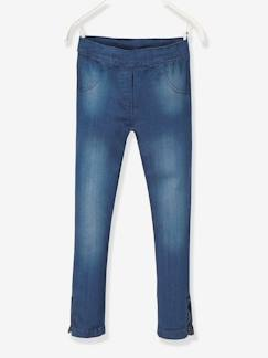 Fille-Jean-Tregging fille en denim ultra-stretch tour de hanches FIN