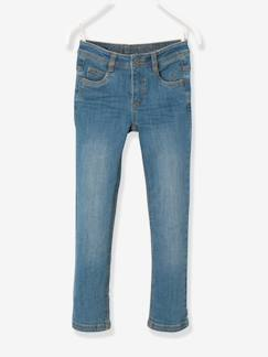 Solden-Jongens-Slim fit jeans voor jongens MEDIUM heupen