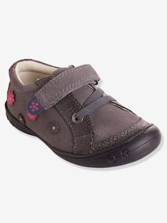 Chaussures-Chaussures fille 23-38-Baskets, tennis-Chaussures basses cuir fille collection maternelle