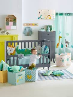 Linnengoed en decoratie-Baby beddengoed-Bedomtrek-Moduleerbare bedomranding thema JUNGLE PARTY