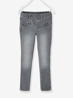 Fille-Jean-Pantalon skinny fille en denim tour de hanches LARGE