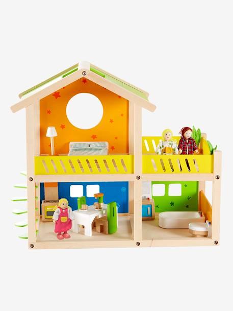 Petite Maison Joyeuse En Bois Hape Multicolore Jouet