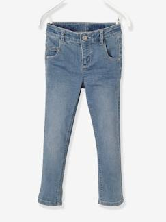 Fille-Pantalon-Pantacourt fille en denim tour de hanches FIN morphologik