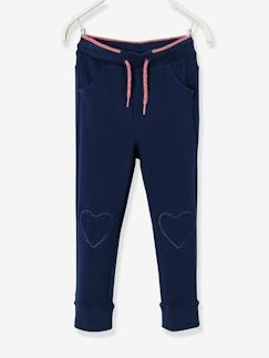 Fille-Pantalon-Pantalon fille en molleton Collection Maternelle