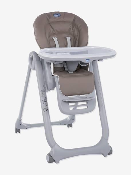 Chaise haute évolutive CHICCO Polly Magic Relax gris - vertbaudet enfant d33ba94e5ce