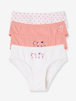 Fille-Sous-vêtement-Lot de 4 culottes stretch fille