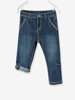 Garçon-Pantalon-Pantacourt denim indestructible garçon transformable en bermuda