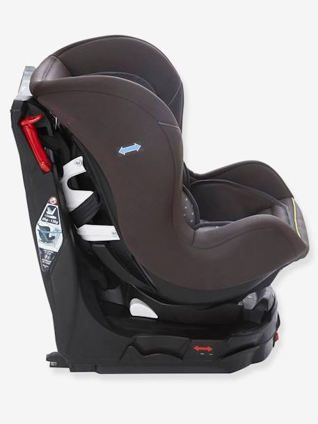 si ge auto pivotant groupe 0 1 rotasit isofix gris decor etoiles pu riculture. Black Bedroom Furniture Sets. Home Design Ideas