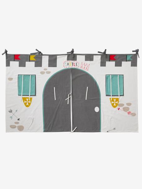 tente lit mezzanine tente de lit chteau fort pour lit mezzanine mi hauteur ligne everest gris. Black Bedroom Furniture Sets. Home Design Ideas
