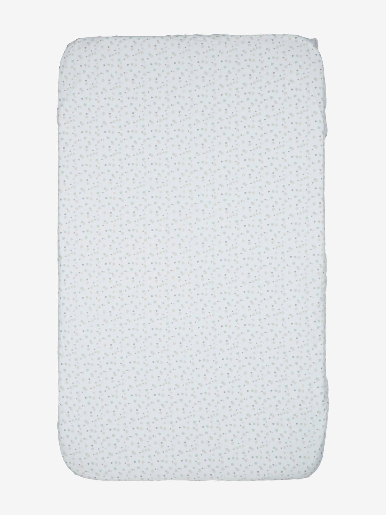 2/x drap-housse pour Berceau Chicco next2me