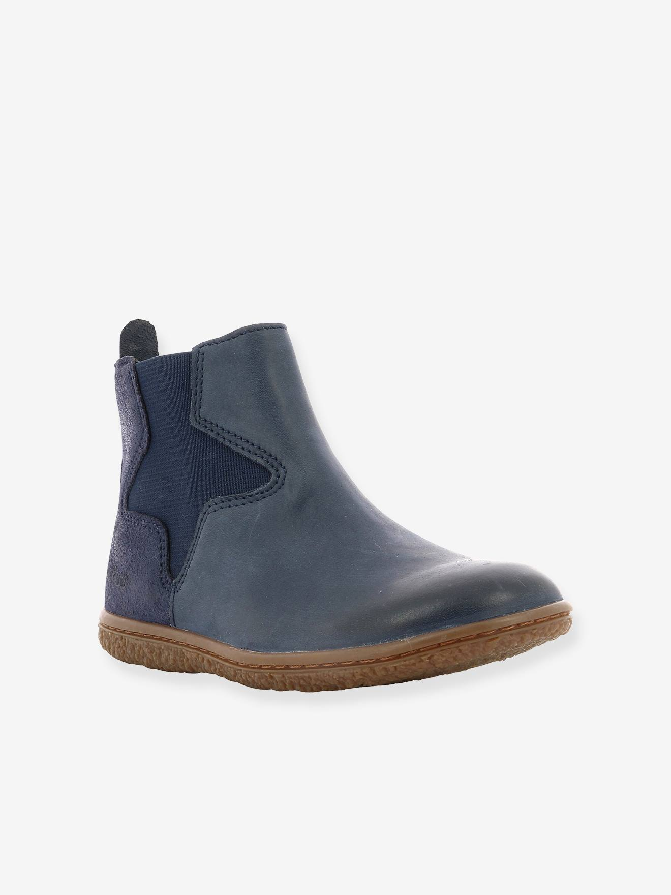 Boots fille Vermillon KICKERS® marine, Chaussures
