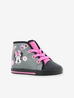 Chaussures-Chaussures fille 23-38-Baskets, tennis-Baskets hautes fille Minnie® à lacets