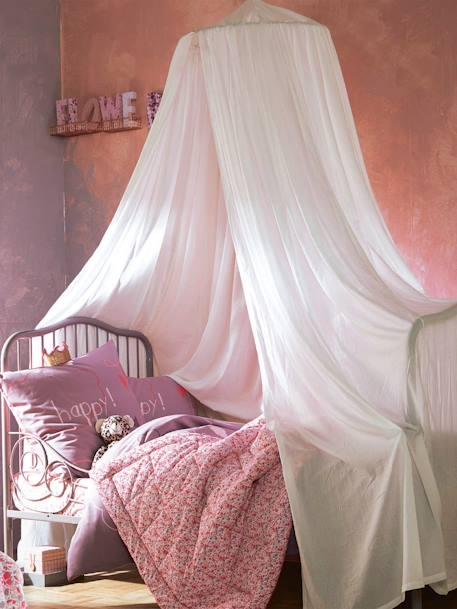 Ciel de lit Cocoon - blanc