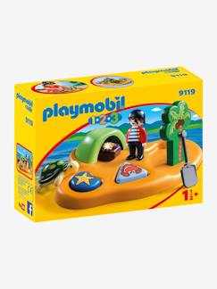 9119  Pirateneiland 123 Playmobil  - vertbaudet enfant