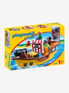 Collectie Vertbaudet-9118 Piratenboot 123 Playmobil