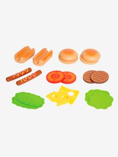 Collection Vertbaudet-Hamburgers et hot-dogs en bois HAPE