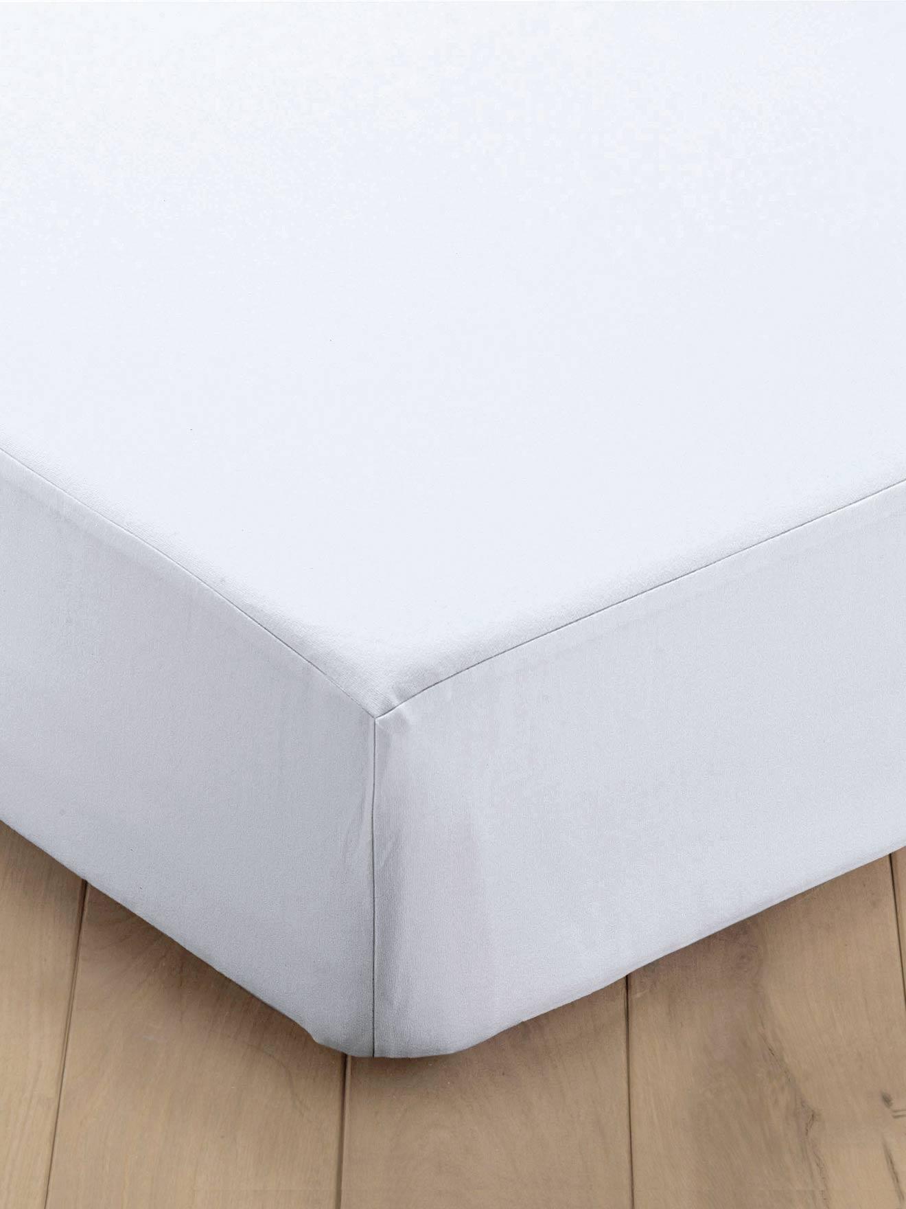 al se molleton entretien facile blanc meubles et linge de lit. Black Bedroom Furniture Sets. Home Design Ideas