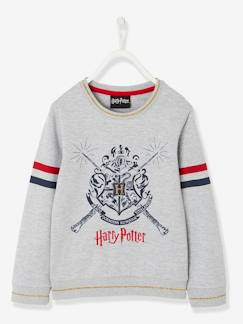 Meisje-Trui, vest, sweater-Sweater-Harry Potter® fleece sweater met print