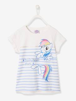 Fille-T-shirt, sous-pull-T-shirt My Little Pony® rayé manches courtes