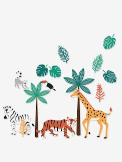 Linnengoed en decoratie-Decoratie-Sticker-XL stickers Green jungle
