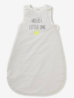 Linnengoed en decoratie-Baby beddengoed-Trappelzalen-Zomerse mouwloze trappelzak HELLO LITTLE ONE