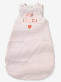 Linnengoed en decoratie-Speciale zomerse trappelzak HELLO LITTLE GIRL