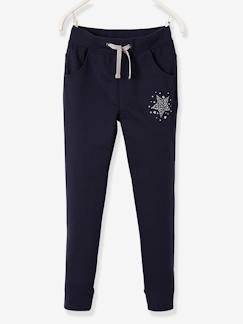 Fille-Collection sport-Pantalon sport fille en molleton