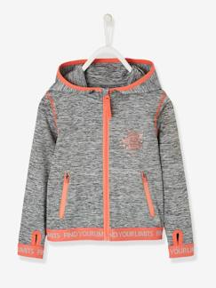 Fille-Collection sport-Sweat sport fille zippé