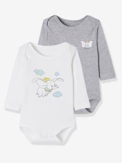 Baby-Body-Set met 2 rompers Disney® met Dumbomotief