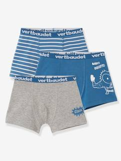 Jongens-Ondergoed-Set met 3 stretch boxers Biscotto