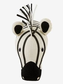 Linnengoed en decoratie-Decoratie-Decoratietoebehoren-Zebra muurtrofee