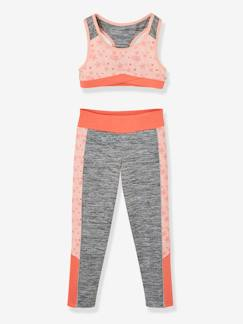 Fille-Collection sport-Ensemble sport fille brassière + legging