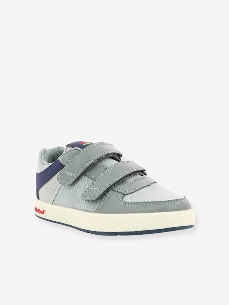 c50b357f24f Jongens sneakers Gready Low KICKERS® DONKERBLAUW+GRIJS MARINE - vertbaudet  enfant