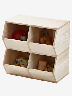 Coffre a jouet enfant - Coffre rangement en bois pour enfants ...