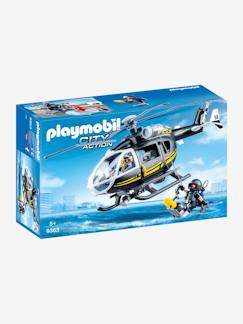 Collectie Vertbaudet-9363 Helikopter en elite-politie Playmobil