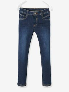 Jongens-Slim fit jeans voor jongens MEDIUM heupen