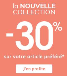 -30% sur votre article préféré*